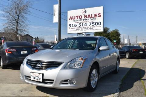 2011 Nissan Altima for sale at A1 Auto Sales in Sacramento CA