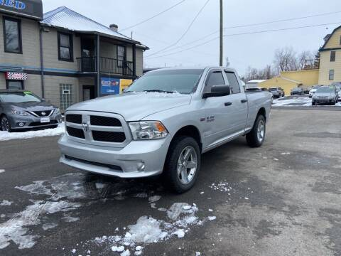 2017 RAM Ram Pickup 1500 for sale at Sisson Pre-Owned in Uniontown PA