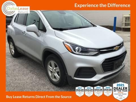 2018 Chevrolet Trax for sale at Dallas Auto Finance in Dallas TX