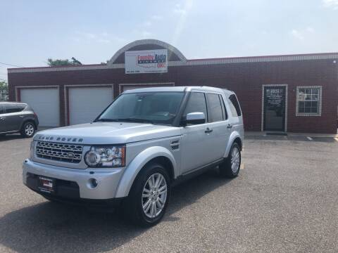 2011 Land Rover LR4 for sale at Family Auto Finance OKC LLC in Oklahoma City OK