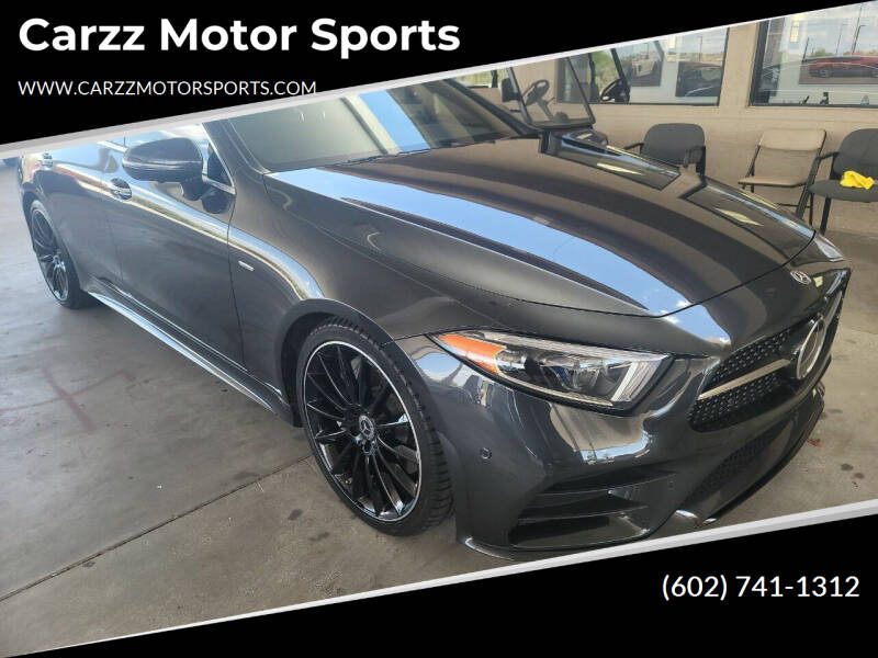 2019 Mercedes-Benz CLS for sale at Carzz Motor Sports in Fountain Hills AZ