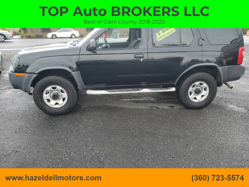 2002 Nissan Xterra for sale at TOP Auto BROKERS LLC in Vancouver WA