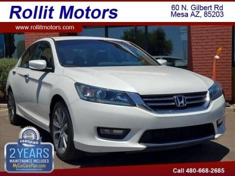 2014 Honda Accord for sale at Rollit Motors in Mesa AZ