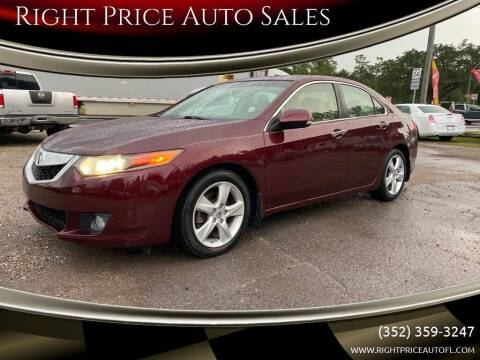 2009 Acura TSX for sale at Right Price Auto Sales in Waldo FL