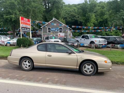 2005 Chevrolet Monte Carlo for sale at Korz Auto Farm in Kansas City KS