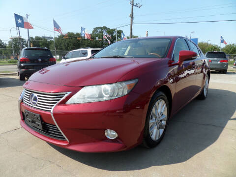 2013 Lexus ES 300h for sale at West End Motors Inc in Houston TX