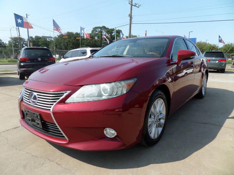 2013 Lexus ES 300h for sale at West End Motors Inc in Houston TX