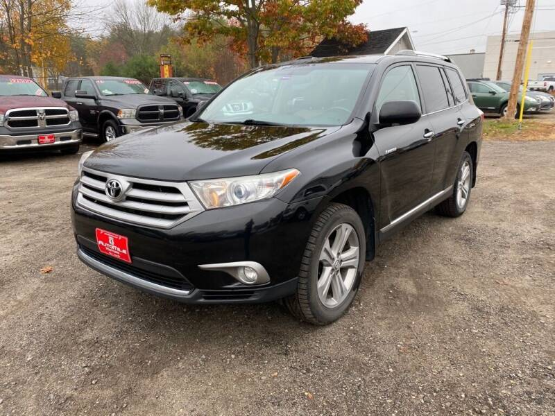 2013 Toyota Highlander for sale at AutoMile Motors in Saco ME