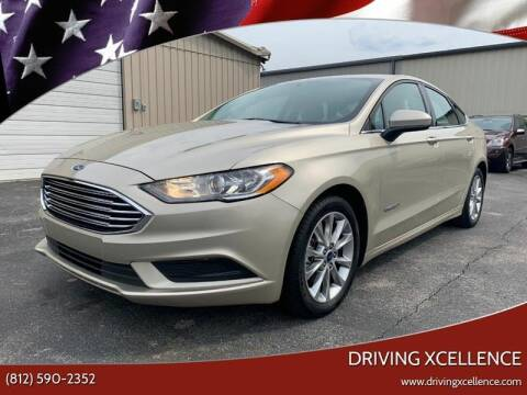 2017 Ford Fusion Hybrid for sale at Driving Xcellence in Jeffersonville IN