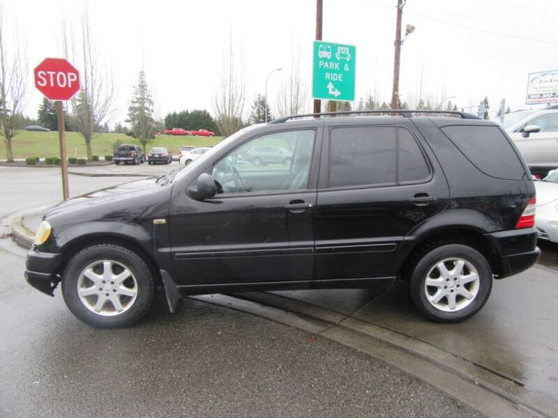 1999 Mercedes-Benz M-Class for sale at Car Link Auto Sales LLC in Marysville WA