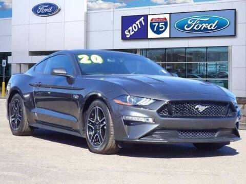 2020 Ford Mustang for sale at Szott Ford in Holly MI