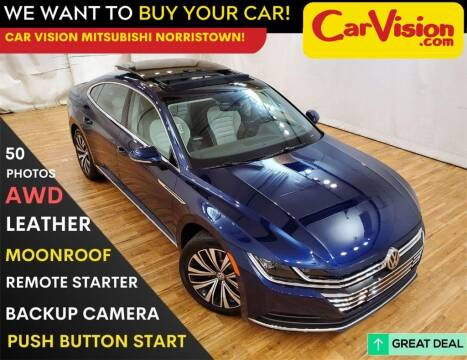 2019 Volkswagen Arteon for sale at Car Vision Mitsubishi Norristown in Trooper PA
