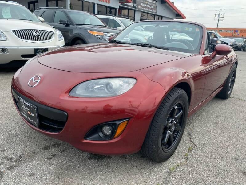 2012 Mazda MX-5 Miata for sale at Donada  Group Inc in Arleta CA