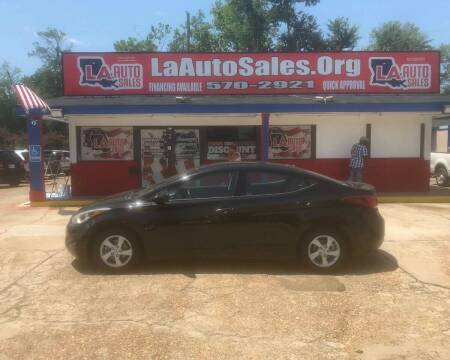 2014 Hyundai Elantra for sale at LA Auto Sales in Monroe LA