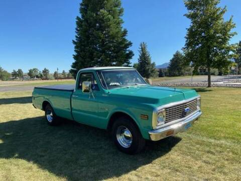 1971 Chevrolet C/K 10 Series for sale at Classic Car Deals in Cadillac MI