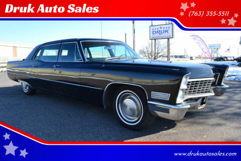 1967 Cadillac Fleetwood for sale at Druk Auto Sales in Ramsey MN
