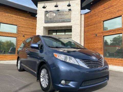 2017 Toyota Sienna for sale at Hamilton Motors in Lehi UT