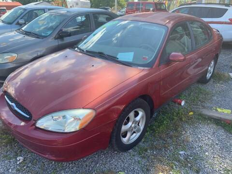 2003 Ford Taurus for sale at Trocci's Auto Sales in West Pittsburg PA