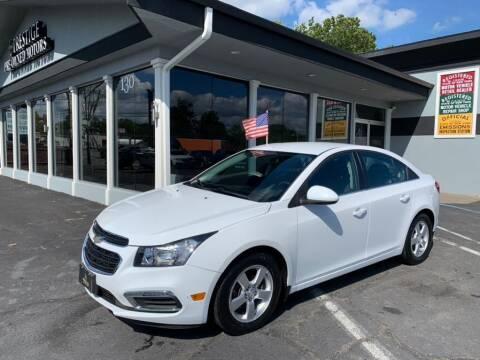 2015 Chevrolet Cruze for sale at Prestige Pre - Owned Motors in New Windsor NY