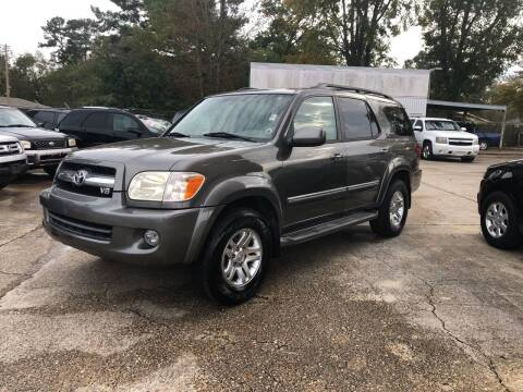 2006 Toyota Sequoia for sale at Baton Rouge Auto Sales in Baton Rouge LA