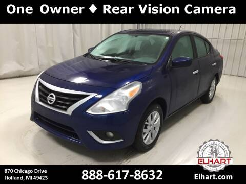 2019 Nissan Versa for sale at Elhart Automotive Campus in Holland MI