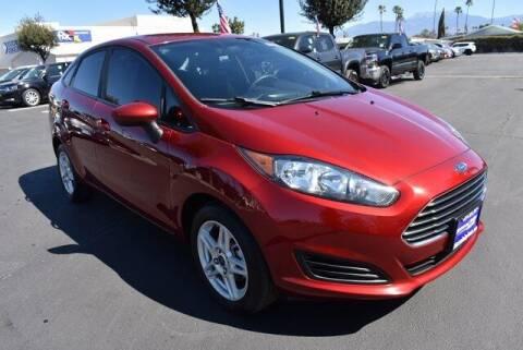 2017 Ford Fiesta for sale at DIAMOND VALLEY HONDA in Hemet CA