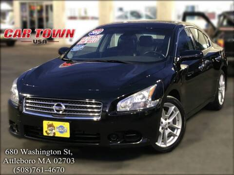 2011 Nissan Maxima for sale at Car Town USA in Attleboro MA