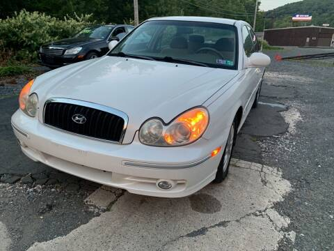 2004 Hyundai Sonata for sale at JM Auto Sales in Shenandoah PA