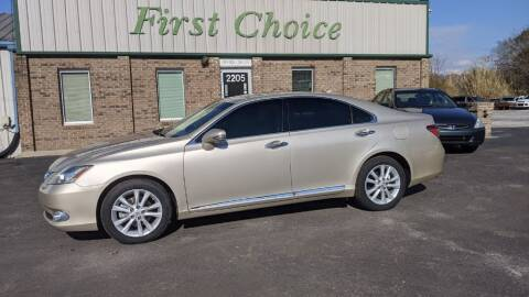 2012 Lexus ES 350 for sale at First Choice Auto in Greenville SC
