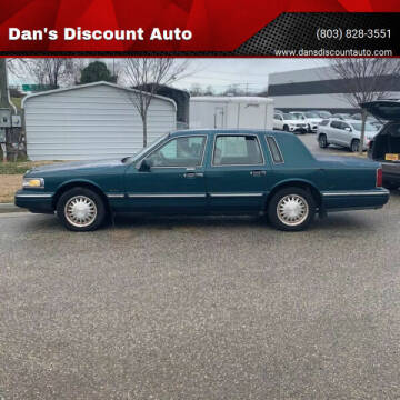 1997 Lincoln Town Car for sale at Dan's Discount Auto in Gaston SC