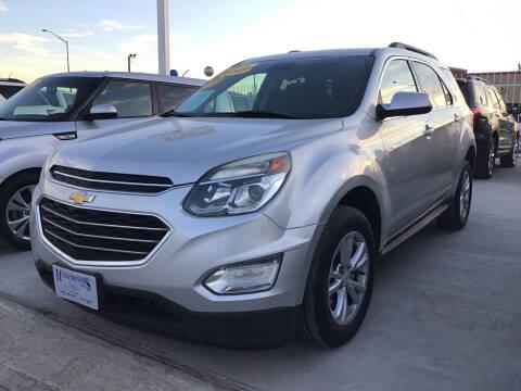 2017 Chevrolet Equinox for sale at Hugo Motors INC in El Paso TX