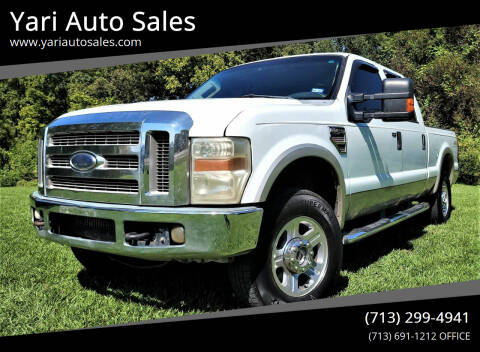 2008 Ford F-250 Super Duty for sale at Yari Auto Sales in Houston TX