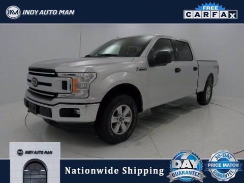2018 Ford F-150 for sale at INDY AUTO MAN in Indianapolis IN