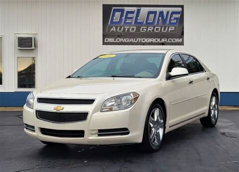 2012 Chevrolet Malibu for sale at DeLong Auto Group in Tipton IN