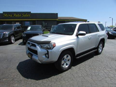 2014 Toyota 4Runner for sale at MIRA AUTO SALES in Cincinnati OH