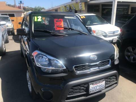 2012 Kia Soul for sale at North County Auto in Oceanside CA