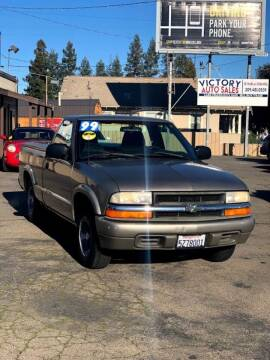 1999 Chevrolet S-10 for sale at Victory Auto Sales in Stockton CA