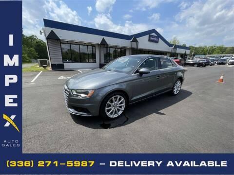 2015 Audi A3 for sale at Impex Auto Sales in Greensboro NC