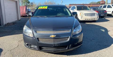 2012 Chevrolet Malibu for sale at Auto Mart in North Charleston SC