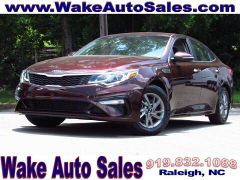 2020 Kia Optima for sale at Wake Auto Sales Inc in Raleigh NC