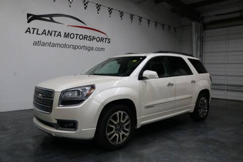 2013 GMC Acadia for sale at Atlanta Motorsports in Roswell GA