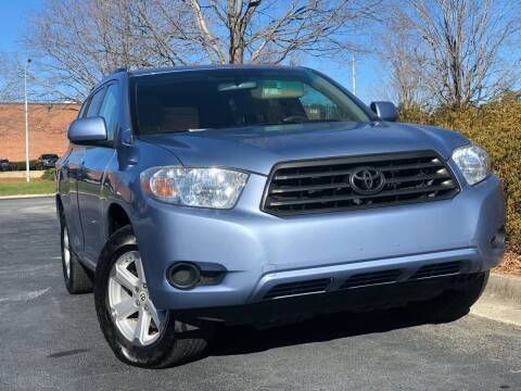 2010 Toyota Highlander for sale at William D Auto Sales in Norcross GA