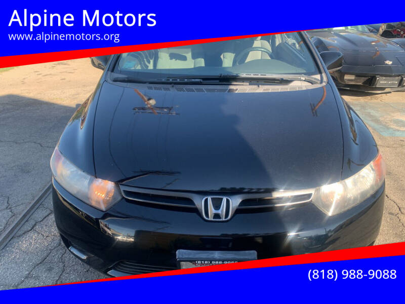 2008 Honda Civic for sale at Alpine Motors in Van Nuys CA