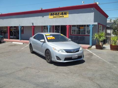 2012 Toyota Camry for sale at Atayas Motors INC #1 in Sacramento CA