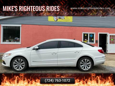 2010 Volkswagen CC for sale at Mike's Righteous Rides in Mc Grann PA