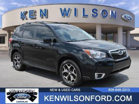 2016 Subaru Forester for sale at Ken Wilson Ford in Canton NC