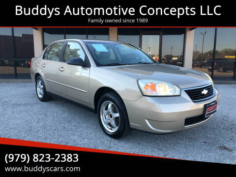 2007 Chevrolet Malibu for sale at Buddys Automotive Concepts LLC in Bryan TX