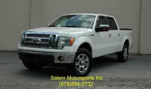 2011 Ford F-150 for sale at Salem Motorsports in Salem MA