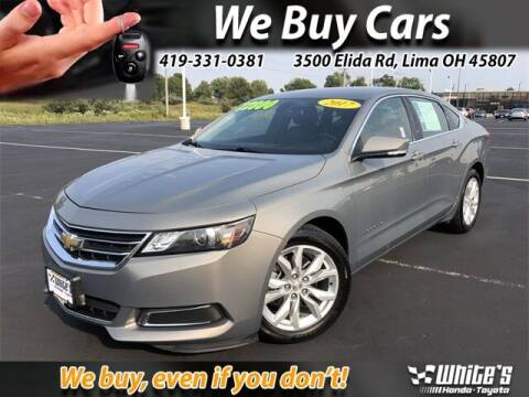 2017 Chevrolet Impala for sale at White's Honda Toyota of Lima in Lima OH