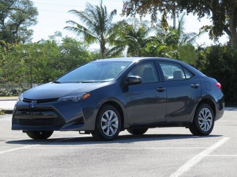 2017 Toyota Corolla for sale at DK Auto Sales in Hollywood FL